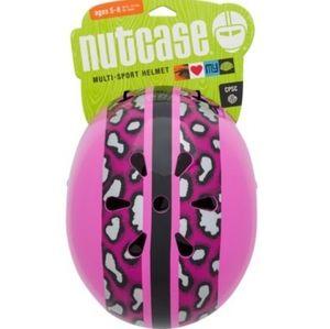 Nutcase Stripe Kids' Helmet - Pink